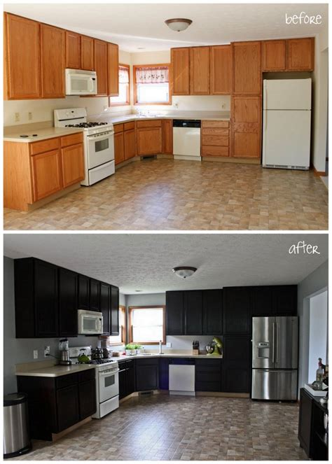 how much to stain kitchen cabinets staining kitchen cabinets before and after randy gregory design awesome staining kitchen