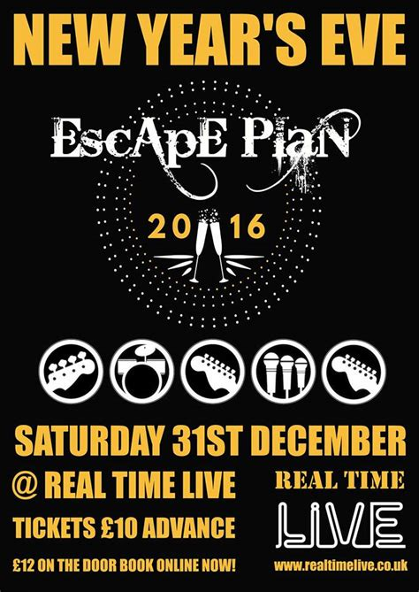new year 2016 uk events new years with escape plan 2016 real time live