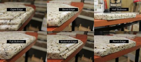 Types Of Granite Countertop Edges by 25 Best Ideas About Types Of Granite On Types
