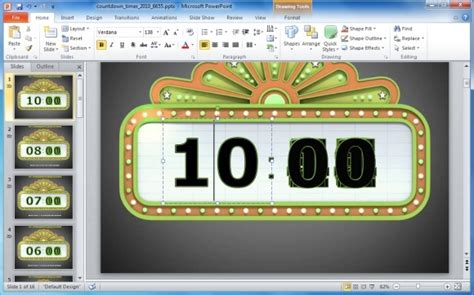 flash countdown timer for powerpoint free download дятлы