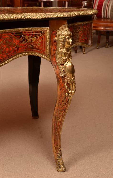 Regent Antiques   Desks and writing tables   Antique French Boulle Centre Table / Bureau Plat c.1870