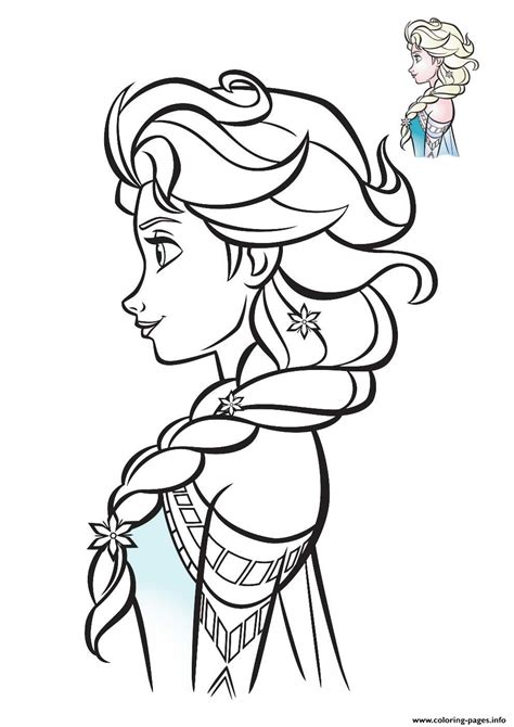 frozen elsa coloring pages elsa frozen profil 2018 coloring pages printable