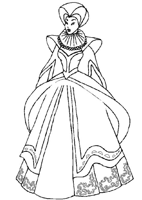 princess gown coloring pages coloring books princess ball gown to print and free download