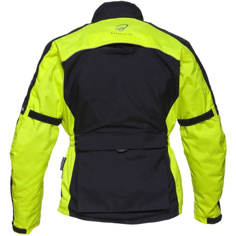 fluorescent bike jacket black tourmaster waterproof breathable motorcycle