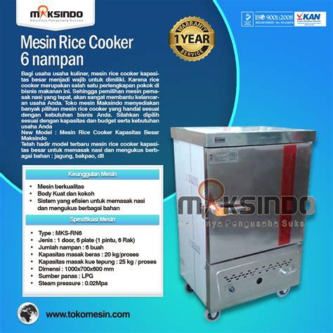 Rice Cooker Gas Besar mesin rice cooker kapasitas besar terbaru restoran toko