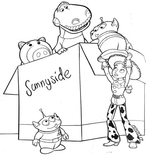 Free Coloring Pages Of Buzz And Woody Woody And Buzz Coloring Pages
