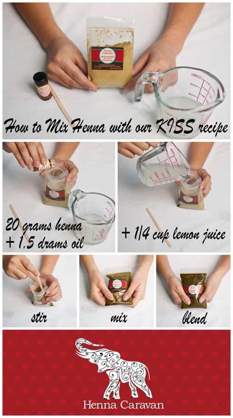 henna tattoo recipe henna caravan basic quot henna recipe quot great results