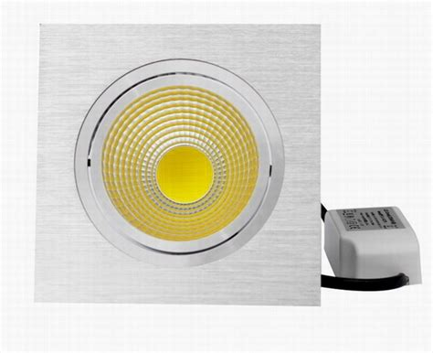 Lu Downlight 2014 luminas led downlight firkantet enkel 6w matt hvit klasse