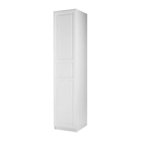 Pax Shallow Wardrobe by Pax Wardrobe With 1 Door Frame Birkeland White With