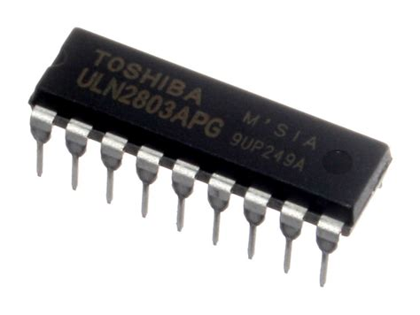 transistor darlington uln2803 transistor array