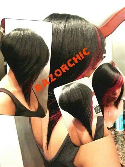 how to razor comb quick weave quick weave bob hair nails and make up pinterest