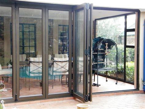 Aluminium Folding Patio Doors Aluminium Windows And Doors All Glass And Glazing