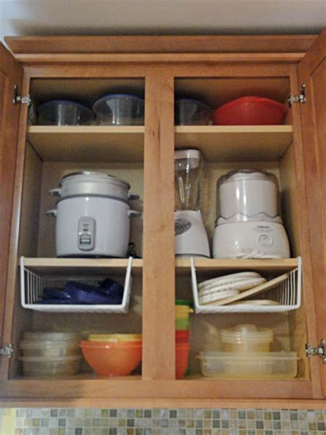inside kitchen cabinet ideas organizing tupperware the hyper house