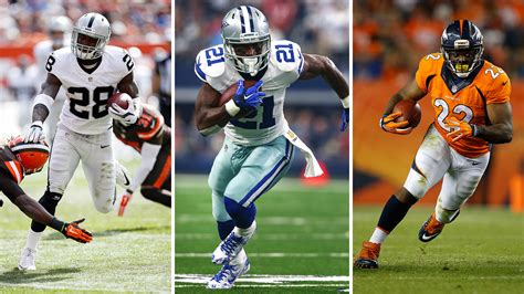 Week 4 Sleeper Running Backs by Football Running Back Rankings For Week 4