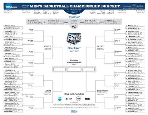 march madness 2014 ncaa mens tournament bracket download your march madness bracket for the ncaa men s