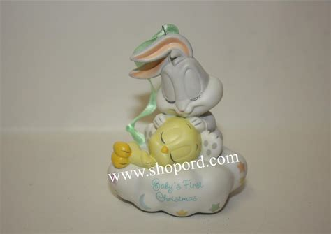 hallmark 2001 babys first christmas ornament baby looney