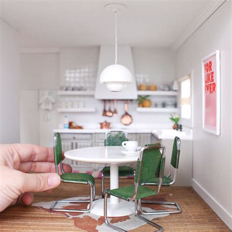 dollhouse furniture kitchen the dollhouse kitchen and dining room in the