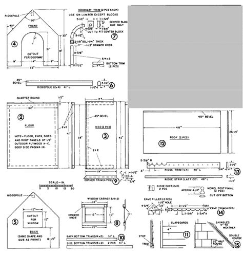 build your own dog house plans doghouse woodworking project