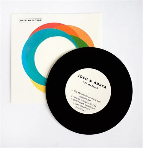 vintage record wedding invitations top 10 inspirational wedding invitations 2012