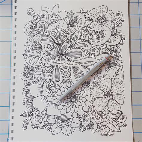 Flower Doodle Design