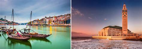 casablanca porto casablanca morocco and porto portugal in one trip from