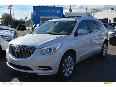 white buick enclave 2016 summit white buick enclave premium awd 117319176