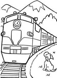 train line drawing clipart best