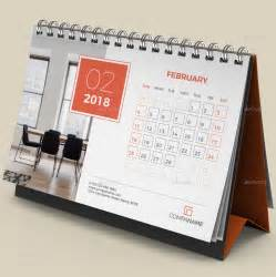 Calendar 2018 For Desk Desk Calendar 2018 By Bourjart Graphicriver