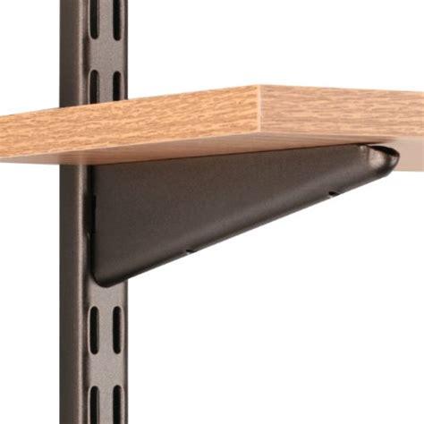 Shelf Track Bracket by Sterling 0122 7brz Dual Track Wood Shelf Bracket 7