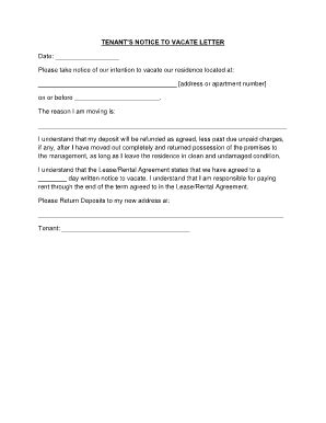60 Day Notice Apartment Template by 60 Day Apartment Notice Letter Bestapartment 2018