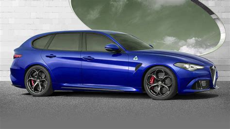 Alfa Romeo Wagon by Alfa Romeo Giulia Wagon Rendering And News