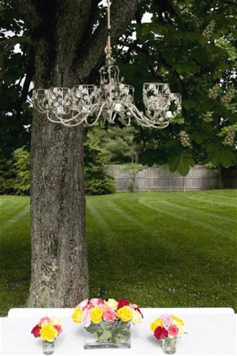 Chandeliers In Trees Hgtv The Buzz Diane Home