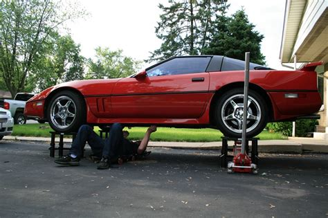 Inexpensive Floor Plans by Safety How To Raise The Car Higher Than The Jack Stands