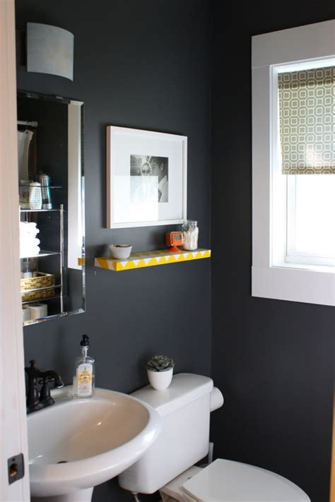 dark colored bathroom designs dark powder room photo by kfddesigns photobucket dream