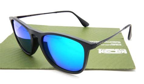 Kacamata Sunglasses Rybn Chris Hitam Merah 2 ban 4187 chris lensa kaca matte black lens tosca