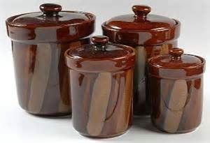 brown kitchen canisters brown canister set