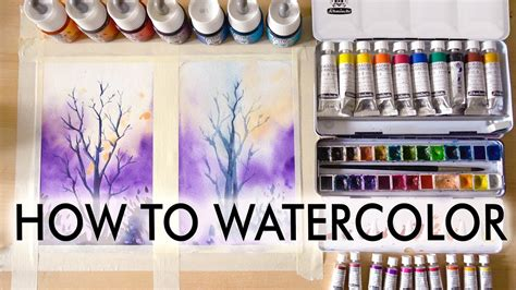 watercolor tutorial for beginners youtube how to watercolor tutorial for beginners youtube
