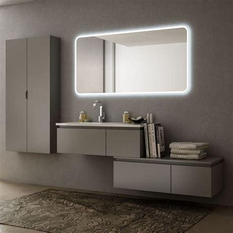 mobile bagno grigio mobili bagno da 101 a 220 cm mobile bagno avon cm 100