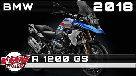 2018 BMW R 1200 GS Review Rendered Price Release Date