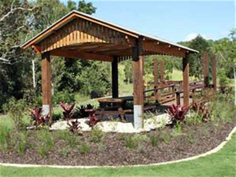Shelter Sheds Australia by Hardwood Timber Bollards Tables Seats Shelters For