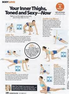 how to tone your at home health and fitness 12 trainer tracy workout sheets