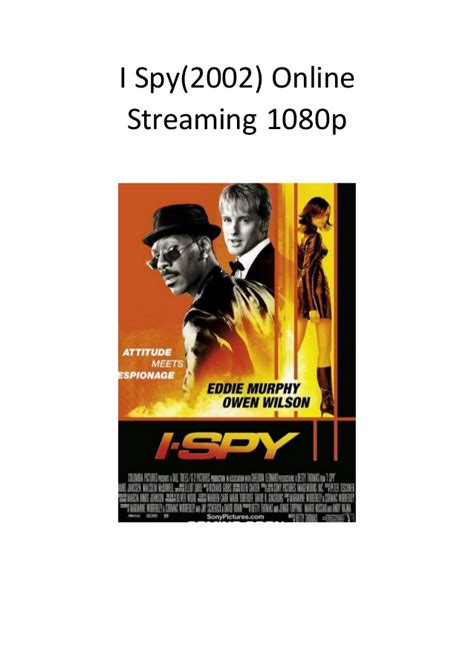 action comedy adventure spy film i spy 2002 online streaming 1080p good comedy adventure