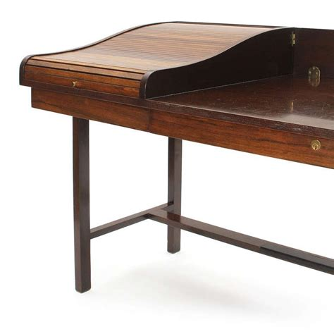 Writing Desk Roll Top by Roll Top Writing Desk By Edward Wormley For Sale At 1stdibs