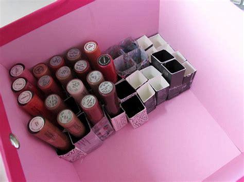 Lipstik Wardah Kotak cara kreatif menyimpan lipstik di rumah rumah dan gaya hidup rumah