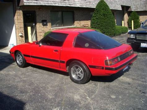 how cars run 1985 mazda rx 7 auto manual sell used 1985 mazda rx7 in round lake illinois united states