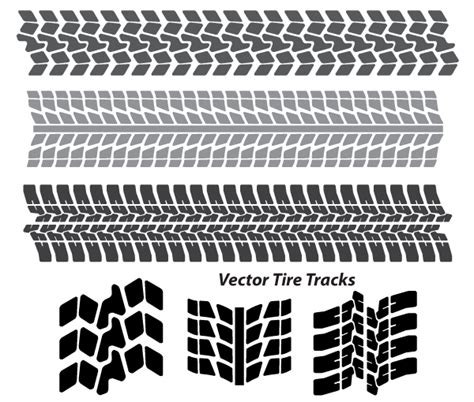 tire pattern ai free tire tracks vector art download free vector graphics