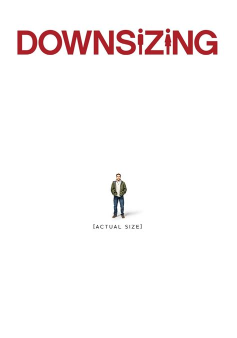 down sizing downsizing movie poster image salty popcorn