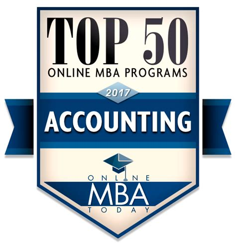 Accounting Mba Program Rankings by Best Mba In Accounting Degree Programs Ranking