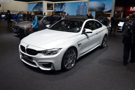bmw m4 competition package launches at 2016 geneva motor show