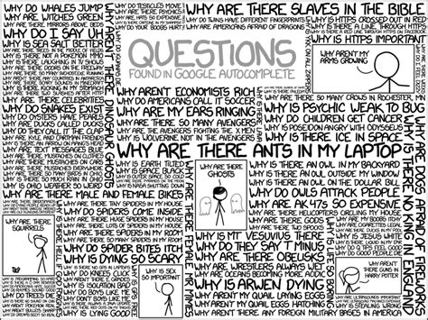 what is the most googled question 1256 questions explain xkcd